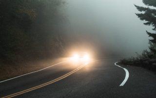 Správne svetlá do hmly